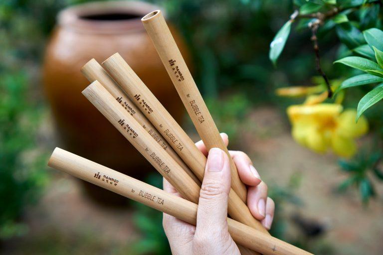 Premium bamboo straws by Bamboo Step
